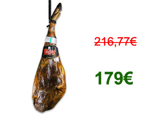 179€ – Bellota pata negra Ham (7,250Kg) Promotion May 2012
