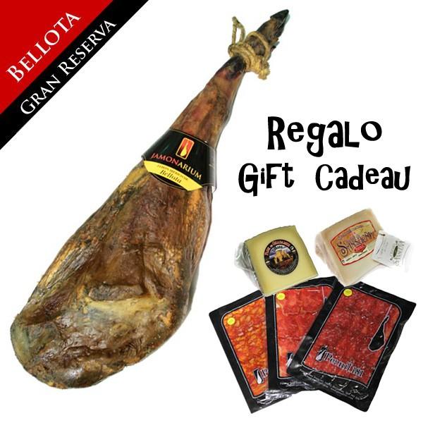 """Bellota Iberische ham """"Gran Reserva 2009"""" + gratis gourmet verpakking"""