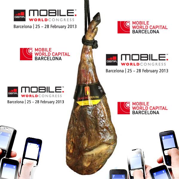 Het Barcelona Mobile World Congress is aangekomen, kom en proef onze Spaanse ham!