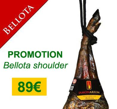 """89€ Aanbieding 5Kg Iberische Bellota Paleta, de beste ham """"pata negra"""" tegen de beste prijs"""