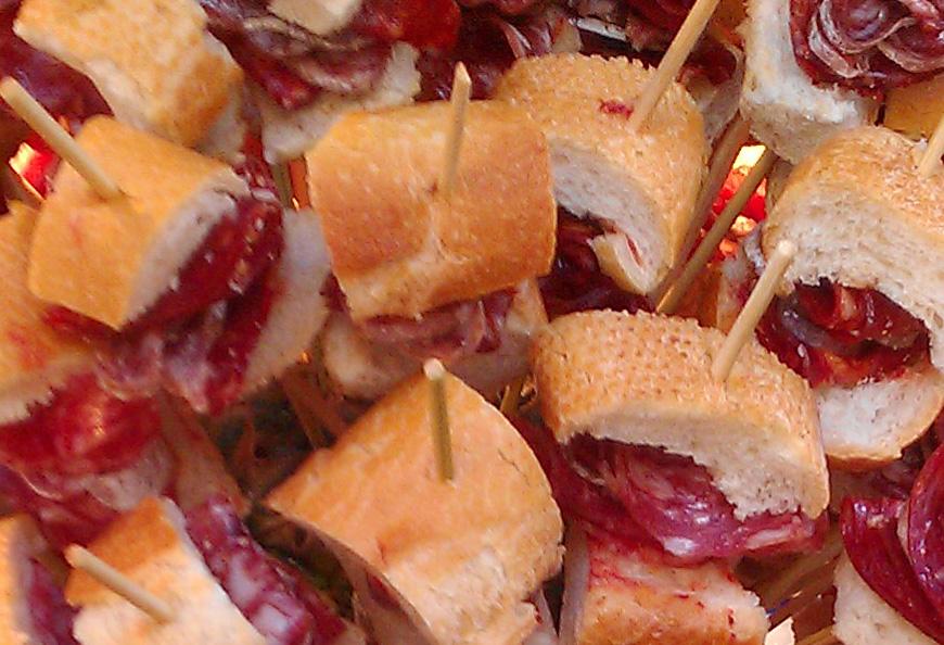 Recept: worst en chorizo spiesen Bellota