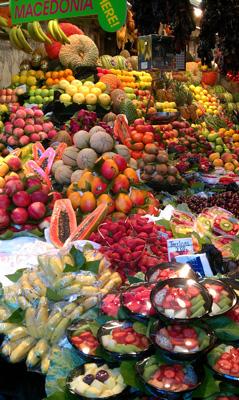 Een mijlpaal te bezoeken in Barcelona: La Boqueria Market