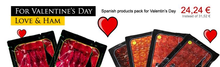 Voor Valentijnsdag ... Love & Spaanse ham
