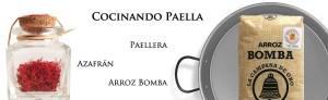 Beste koken paella met paellera, Saffraanrijst Pump