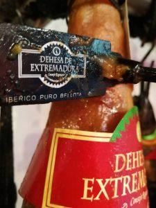 "Ham ""DO Dehesas Extremeñas"": ham met entiteit."